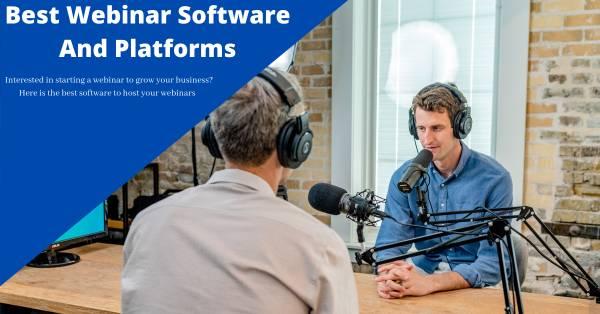 Best webinar platforms 2021